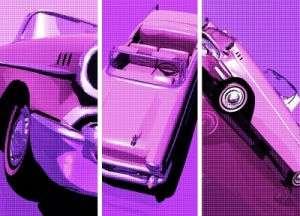 Three Car Retro